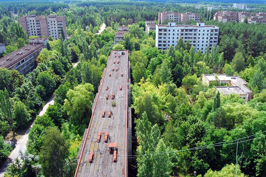 Ghost city in Ukraine