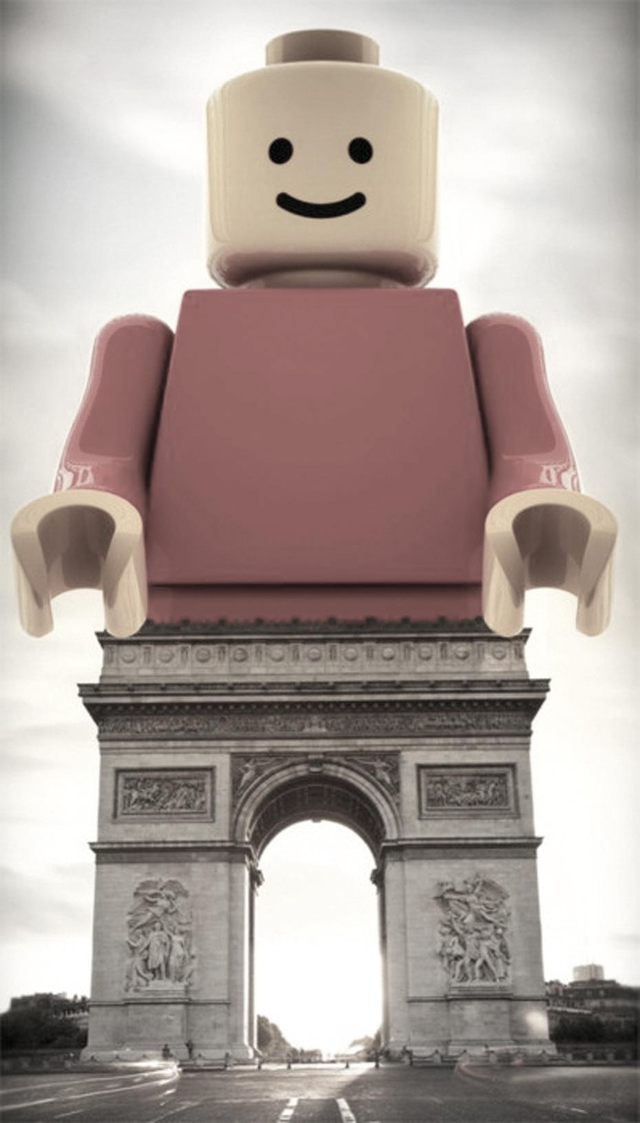 Lego-Arco-di-Trionfo,-Parigi