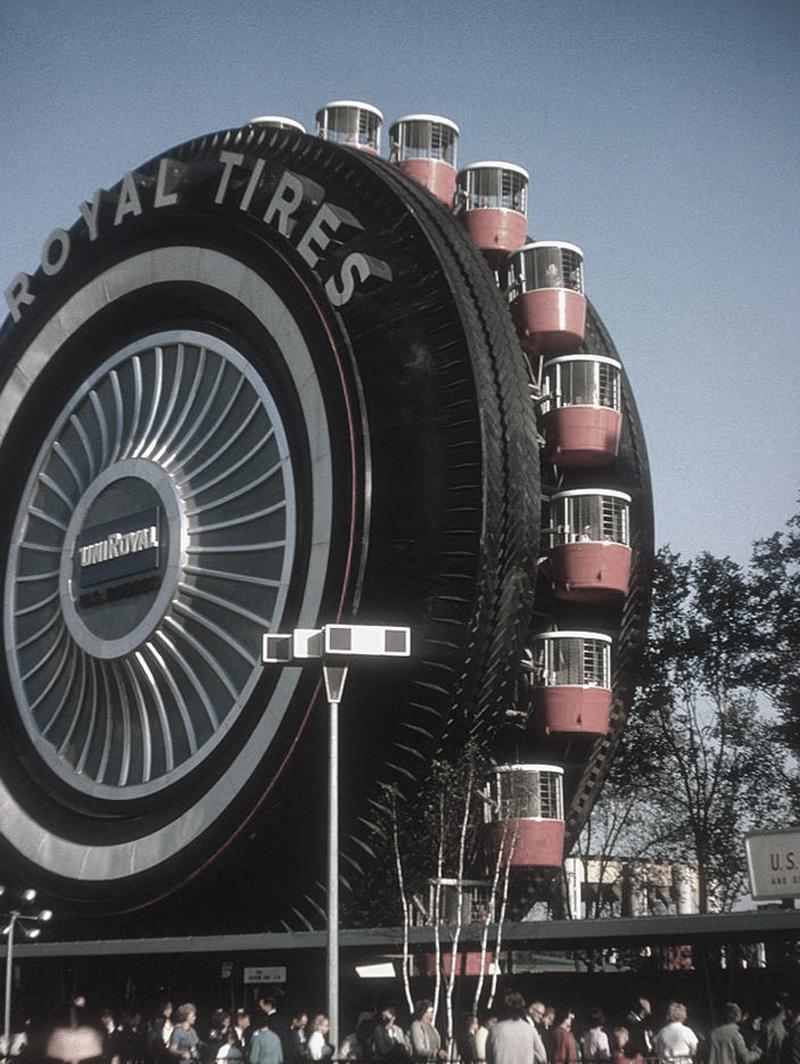 New York World's Fair 1964 - Uniroyal Giant Tire