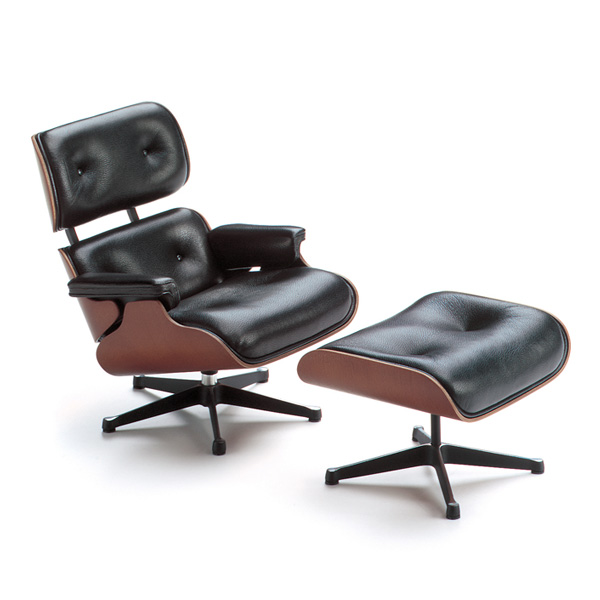 Miniature-Eames-Lounge-Chair-and-Ottoman-Charles-Eames-1956.-All-images-courtesy-Vitra-Design-Museum