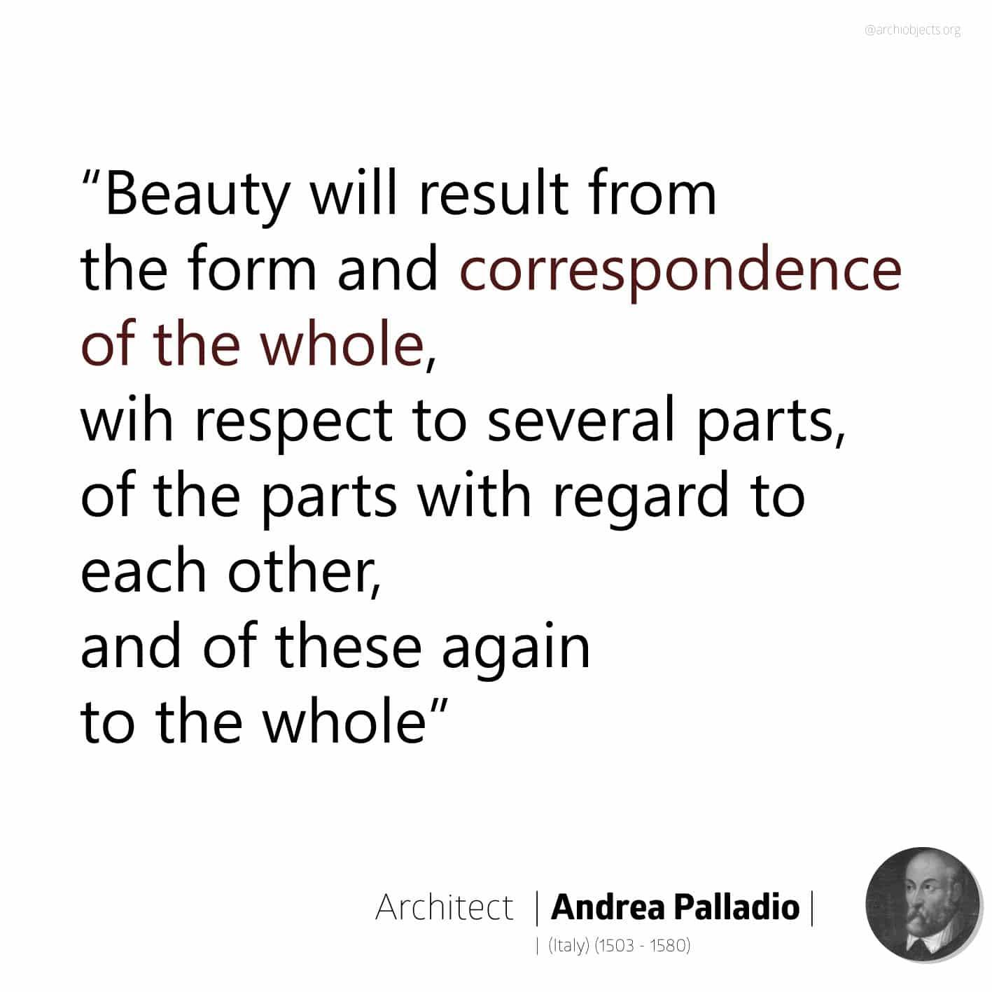 andrea palladio quote