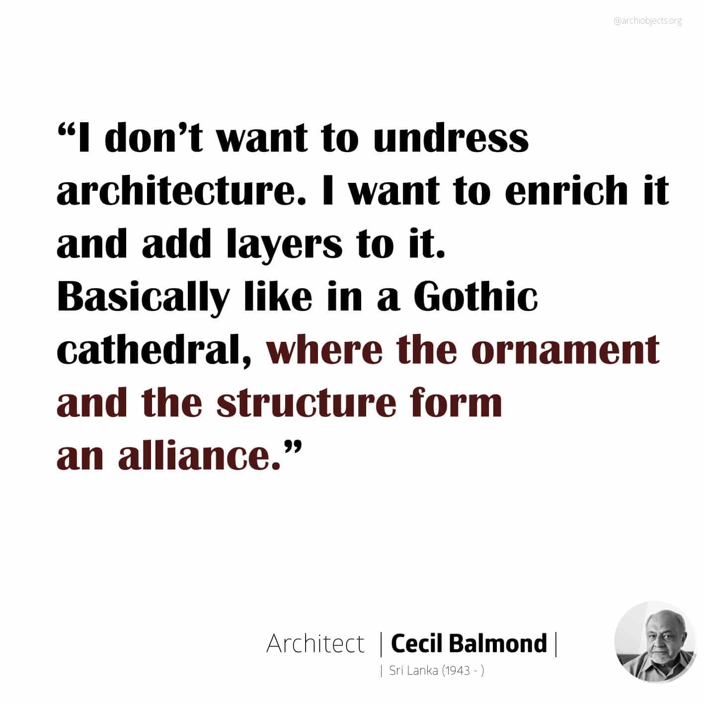 cecil balmond quote