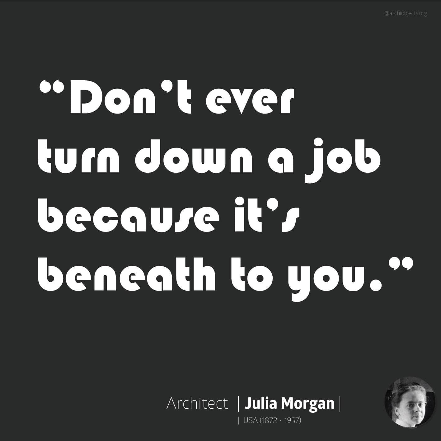 julia morgan quote