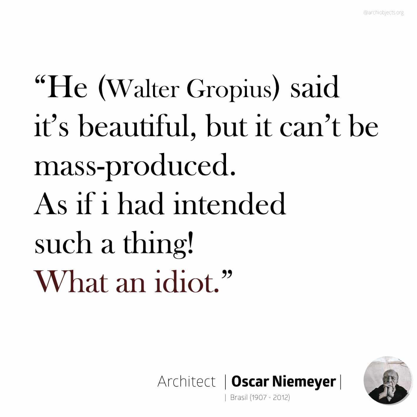 oscar niemeyer quote