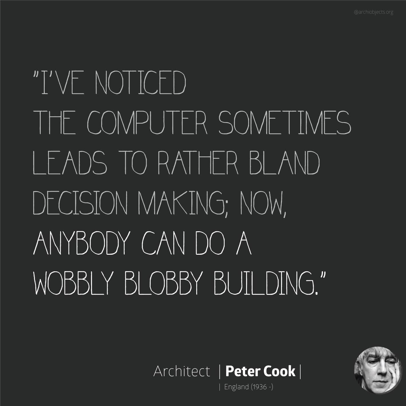 peter cook quote