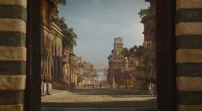 Architecture and Landscape of Games of Thrones