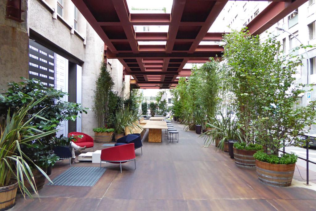 Public space in Milan