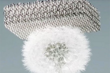 Ultralight Metallic Microlattices