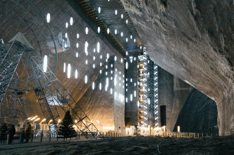 subterranean theme park