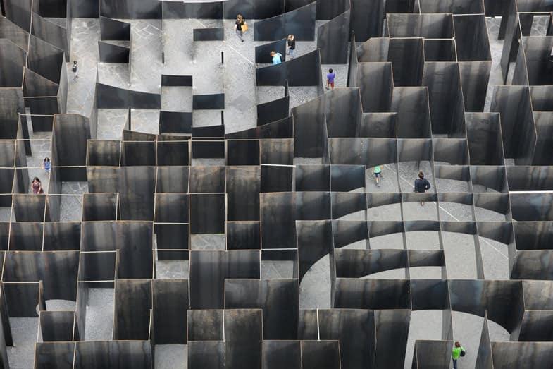 urban labyrinth