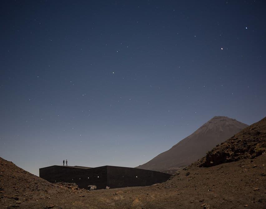 Fogo Natural Park Venue by OTO, Photo by Fernando Guerra