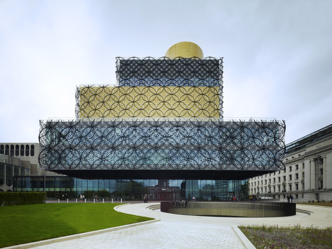 Library of Birmingham by Mecanoo, Photo by Christian Richters